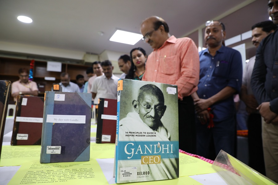 Exhibition of Books On Mahatma Gandhi on his 150 th Birth Anniversary