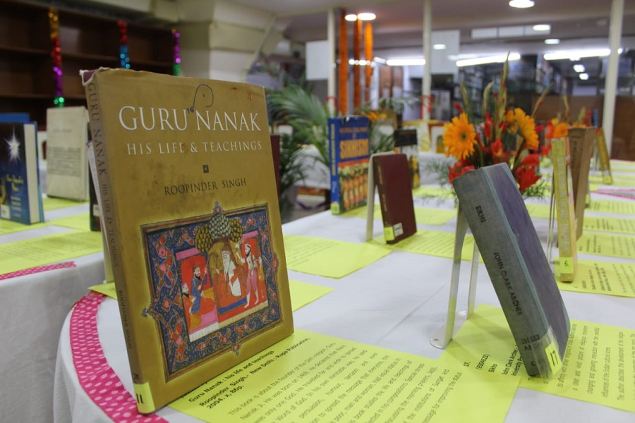 Exhibition of Books on Guru Nanak Dev