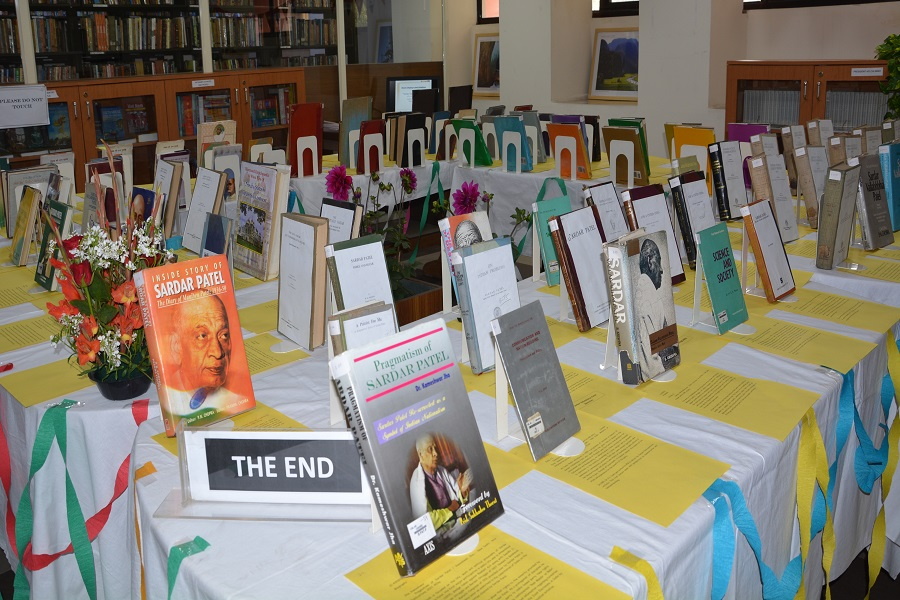 Books Display-cum-Exhibition on Sardar Vallabhbhai Patel